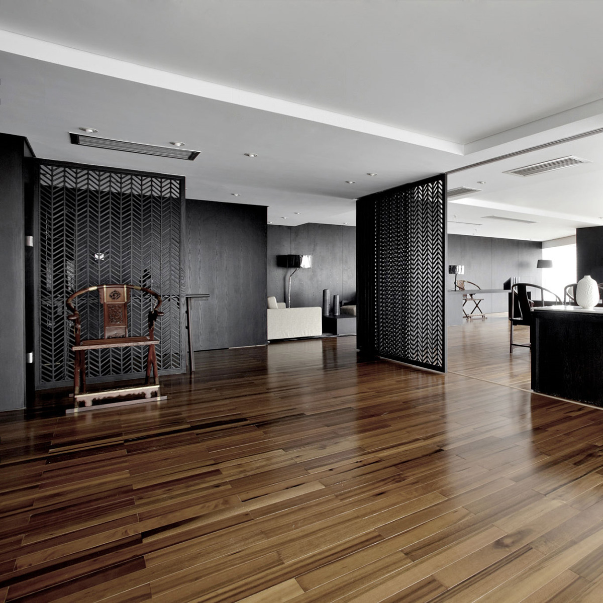 Modern office manhattan interior design for Manhattan ny interior designer